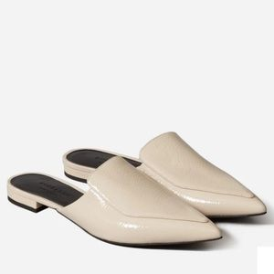 Everlane Boss Mules in Bone